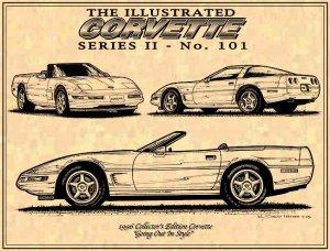 1996 Collector's Edition Corvette