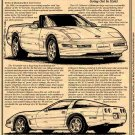 1996 Collectors Edition Corvette Illustrated Series No. 101