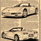 1998 Corvette Roadster Illustrated Series No. 106