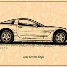 1999 Corvette Coupe Profile