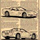 1999 Corvette Hardtop Illustrated Series No. 109