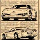 1999 Corvette Illustrated Series No. 108