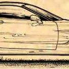 2000 Corvette Coupe Profile