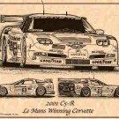 2001 Le Mans Winning C5-R Corvette