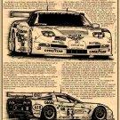 2001 Le Mans Winning C5-R Corvette Illustrated Series No. 114