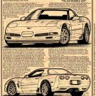 2001 Z06 Corvette Illustrated Series No. 113