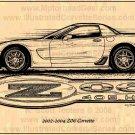 2002 - 2004 Z06 Corvette