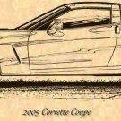 2005 Corvette Coupe Profile