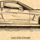 2007 Z06 Corvette Profile
