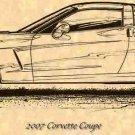 2007 Corvette Coupe Profile