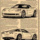 "2008 Production Corvette ""The Mid-Cycle Refresh"" Illustrated Series No. 130"