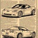 "2009 ZR1 Corvette ""Chevy's World-Class Supercar"" Illustrated Series No. 133"
