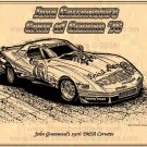 John Greenwood's 1976 IMSA Batmobile Corvette Racer