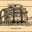 Blown Funny Car Hemi Engine