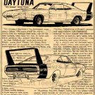1969 Dodge Charger Daytona - No. BPS-15