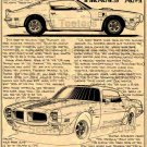 1970-1/2 Pontiac Trans-Am Firebird No. BPS-12