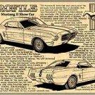 1963 Mustang II Show Car