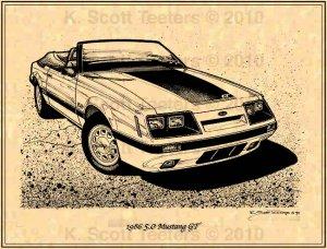 1986 5.0 Mustang GT Convertible