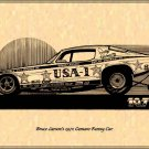 Bruce Larson USA-1 1970 Camaro Funny Car