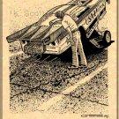 Bruce Larson 1985 Corvette Funny Car