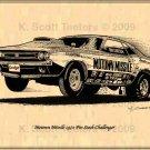 Ted Spehar's Motown Missile Pro Stock 1971 Dodge Challenger