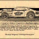 Ohio George Montgomery's Turbocharged Mustang Gasser