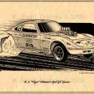 K S Tiger Pitman's Opel GT Gasser