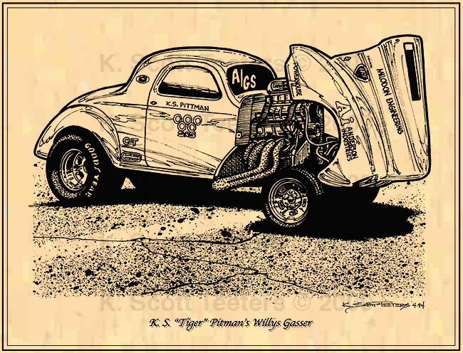KS Tiger Pitman's Willys Gasser