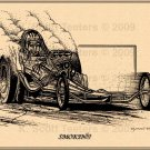 """Smokin'"" Top Fuel Dragster"