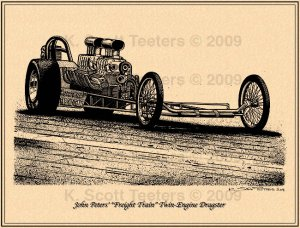 John Peters Freight Train Dragster