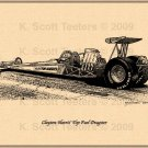 Clayton Harris' Top Fuel Dragster