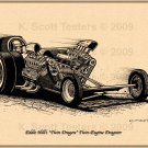 Eddie Hill's Double Dragon Twin-Engine Dragster