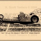 "Sneaky Pete Robinson's ""Tinker Toy Too"" Dragster"