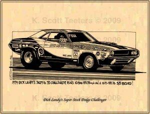Dandy Dick Landy's Super Stock Dodge Challenger