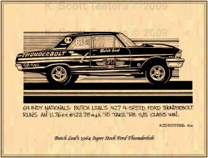 Butch Leal's Super Stock 1964 Ford Thunderbolt
