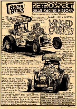 Al Marcellus & Willy Borsch Winged Express AA/Fuel Altered : Drag Racing History