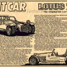 Colin Chapman's Lotus 7