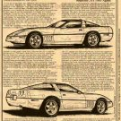 1989 ZR-1 Snake Skinner Corvette Illustrated Series No. 159