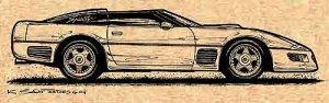1991 Corvette Callaway Profile