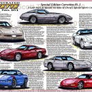 Special Edition 1978 to 1996 Corvettes Pt.1  Illustrated Series No. 161