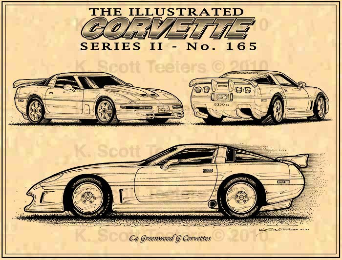 """The Greenwood C4 G Corvettes """"The Curious Case of the Greenwood G Cars"""""""