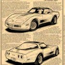 1982 Collector Edition Corvette Illustrated Series No. 173