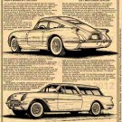 1954 Motorama Corvettes - Corvette Illustrated Series No. 178