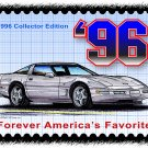 1996 Collector Edition Corvette Postage Stamp Art Print