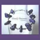 Paul Stanley Purple Chunky Bracelet,KISS, Chunky Look, Great Color, Ramona Beasley