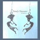 Kokopelli Charm Earrings, Islands, Original Design, #TrendyTreasuresByRamona,