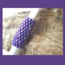 Bright Iridescent Purple, Dreadlock Sleeve, Dread Bead, #TrendyTreasuresByRamona