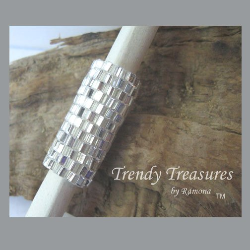 Sparkling Silver, Dreadlock Sleeve, Dread Bead, #TrendyTreasuresByRamona