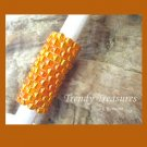 Bright Orange, Dreadlock Sleeve, Dread Bead,#TrendyTreasuresByRamona