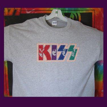 KISS Images, Original Design Bling Glitter Embellished T-shirt, New, KISS